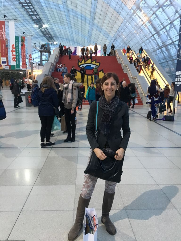 Alessandra Leipziger Buchmesse fiera del libro Lipsia Leipzig 2018