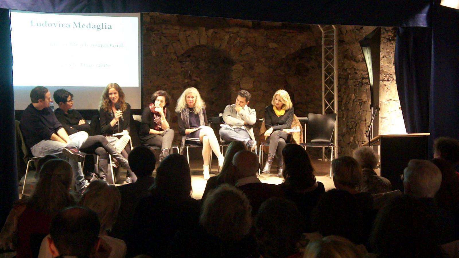Ludovica Medaglia spricht über das Thema Identität
