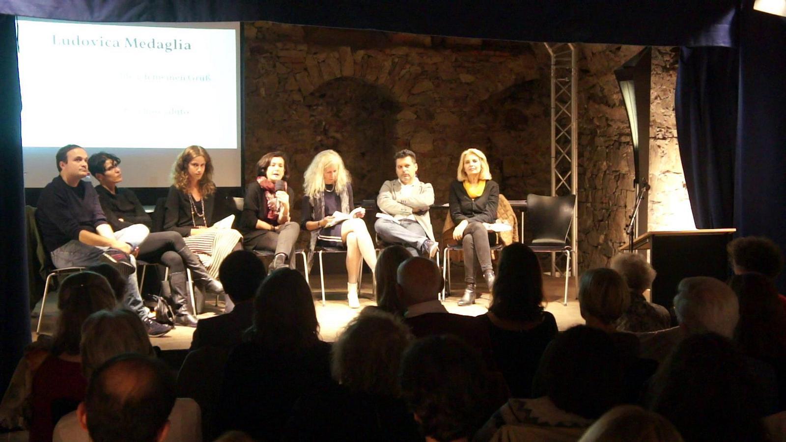 Irene Pacini übersetzt Ludovica Medaglia