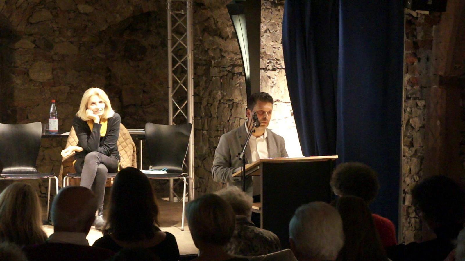 "Demetrio Paolin liest aus seiner Erzählung ""Piombo (un'autobiografia)"""