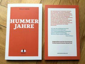 Hummerjahre, il nuovo romanzo di Nicola H. Cosentino. #frescodistampa