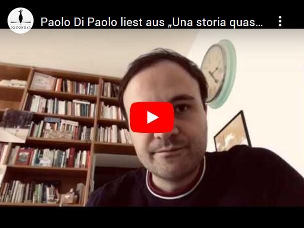 Paolo Di Paolo liest aus Una storia quasi solo d'amore_2020-04