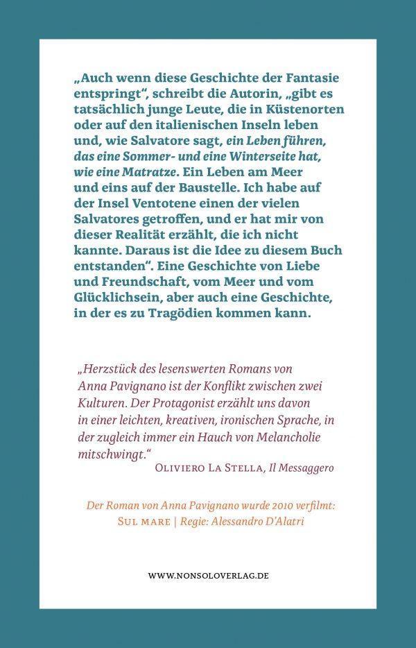 Rückseite Ohne Halt ins Blaue, Taschenbuch, nonsolo Verlag